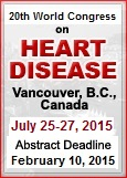 20th World Congress on Heart Disease-Vancouver, July 25-27, 2015