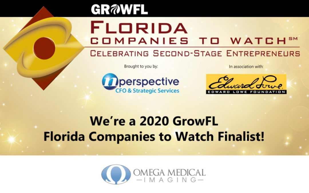 Omega Medical Imaging Among First Round of GrowFL 2020 Florida Companies to Watch