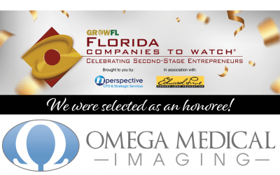Omega Medical Imaging Honored as a GrowFL Company to Watch