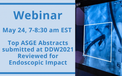 Webinar – Review of ASGE Abstracts at DDW2021